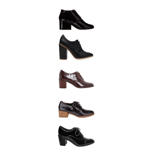 The Heeled Oxford