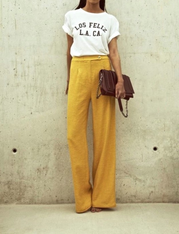 The Yellow Pant